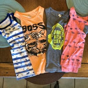 Boys tank tops, size 5/6 The Children's Place